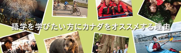 語学を学びたい方にカナダをオススメする理由